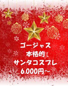高品質サンタコスプレ衣装 6000円~